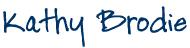 Kathy Brodie Signature