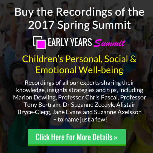 Buy the 2017 Spring Early Years Summit Recordings