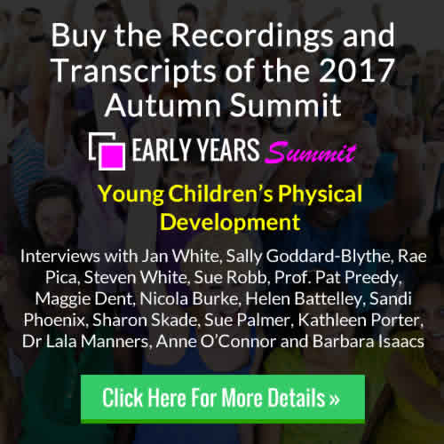 Buy the 2017 Autumn Early Years Summit Recordings